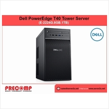 Dell PowerEdge T40 Tower Server (E-2224G.8GB.1TB) (T40-E2224G)