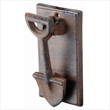 [From USA]Esschert Design DB55 Cast Iron Spade Doorknocker