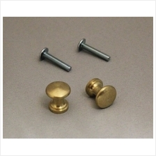 [From USA]Piano Desk Knobs Solid Brass - 1 Pair