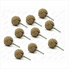 [From USA]5MoonSun5's Jute Rope Door Knobs/Rope Knot Drawer Pulls and Knobs/Pu