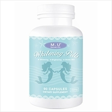 [USA Shipping]M.U Mermaid USA Whitening Pills for Skin 3 Times Effect of gluta