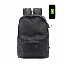 Casual Leather Laptop Bag Light Weight Waterproof Travel Student Bag
