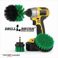 [USA Shipping]Drillbrush Green Kitchen Cleaning Drill Brushes - Stainless Stee