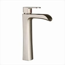 [From USA]BWE Waterfall Spout Commercial Bathroom Vessel Sink Faucet Single Ha