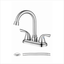 [From USA]PARLOS Two-Handle Bathroom Sink Faucet with Drain Assembly and Suppl
