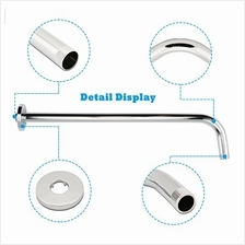 [From USA]Neady 16 Inch Shower Arm Stainless Steel Shower Head Extension Fixed