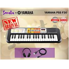 YAMAHA PSS-F30 37 Key Mini Keyboard  (PSSF30 / PSS F30) PACKAGE B