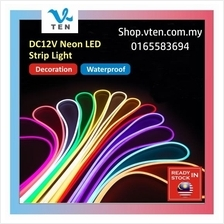 DC12V 2.5cm cuttable 6x12mm Neon LED Strip Light Pink Purple 1M