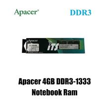 Apacer 4GB PC3-10600 (DDR3-1333) SODIMM Ram - Notebook