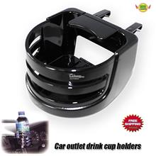 Car black outlet drink holder Cup holders SEIWA W273