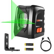 [From USA]Lomvum Self-Leveling Laser Level 100FT Green Vertical Horizontal Cro