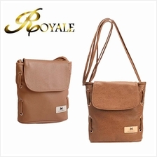 ROYALE MaoMao Women's Casual PU Leather Shoulder Crossbody Bucket Bag
