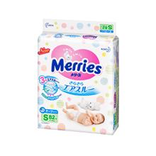 MERRIES BB Diapers Tape S 82s