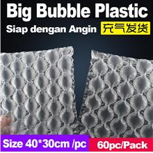 Air Bubble Plastik 31x25cm Inflatable Fragile Packing Material Plastic