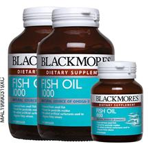 BLACKMORES Fish Oil 1000mg 2 x 120s 30s)