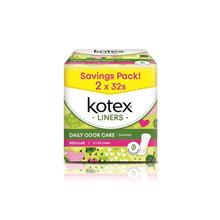 KOTEX Fresh Panty Liners Regular Scented 2 x 32s