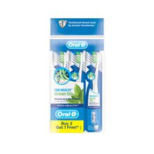 ORAL-B Pro Health Green Tea Toothbrush 3s