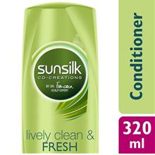 SUNSILK Lively Clean and Fresh Conditioner 320 ml