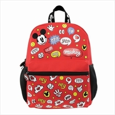 DISNEY MICKEY MOUSE RED KIDS BACKPACK (12-INCH)