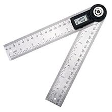 [From USA]360 Degree 200mm 20cm(7.8 in) Digital Angle Ruler Gauge Finder Meter
