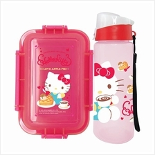 HELLO KITTY SWEETS LUNCH BOX WITH WATER BOTTLE SET