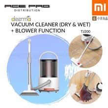 XIAOMI DEERMA Vacuum Cleaner TJ200 - Dry & Wet Cleaner with Blower