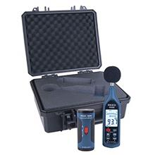 [From USA]REED Instruments R8080-KIT Data Logging Sound Level Meter and Calibr