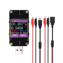 [From USA]eSynic Bluetooth USB Meter Tester Type-C USB QC2.0 3.0 Current and V