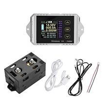 [From USA]DC Meter Amp VoltColor LCD Screen Wireless Meter 2.4G Wireless Data