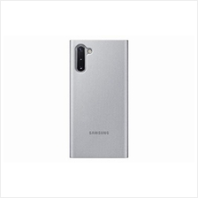 [From USA]Samsung Galaxy Note10 Case S-View Flip Cover - Silver (US Version wi