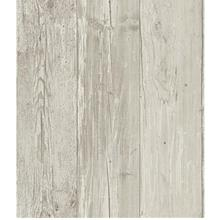 [From USA]York Wallcoverings Wide Wooden Planks Removable Wallpaper Gray/Black