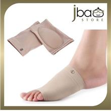 Fabric Silicone Flat Foot Arch Support Sleeve Flatfoot Socks Insole
