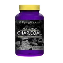 Activated Charcoal 260mg, Detox & Bloating (180caps)