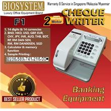 Biosystem F1 14 Currencies Check Writer