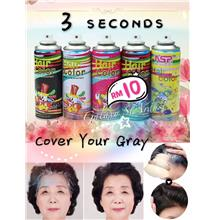 21 Color-Temporary Hair Color Spray-Gradient Shimmer Glitter Rainbow