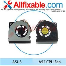 Asus A52 K52J K72 N61j N61 N61v N64X N71 Laptop CPU Cooling Fan