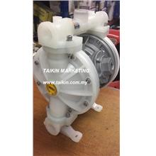 Pneumatic Diaphragm Pump 1/2'' Air Operated Pump Polypropylene Body