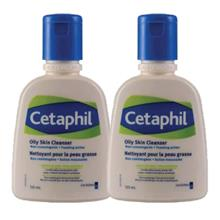 CETAPHIL Oily Skin Clean Twin Pack 2 x 125ml)