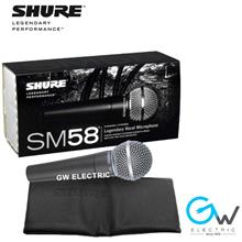 SHURE (SM58) Handheld Dynamic Microphone