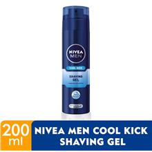 NIVEA FOR MEN Men Cool Kick Shaving Gel 200ml