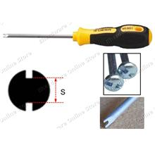 Slotted Spanner Tip Security Screwdriver (RD9831)