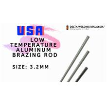 1 pcs of Size 3.2mm : Low Temp Aluminum-Zinc Brazing Rod USA Malaysia