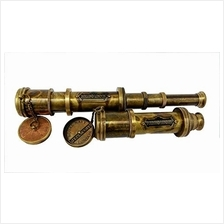 .A S Handicrafts Antique Brass Telescope Vintage Scope Marine Sailor-Dollond L