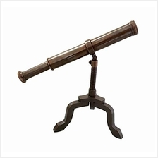 .Collectibles Buy Antique Handmade Brass Telescope Nautical Desk Decor on Stan