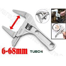 Plumbing Tools Extra Wide Jaw 68mm Adjustable Wrench (TC566170)