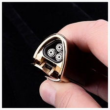 [USA Shipping]HOUSWEETY Triple Jet Flame Butane Cigarette Torch Lighter Mahoga
