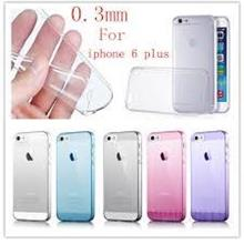 iPhone 6 Plus 5.5 inch UltraThin 0.3mm TPU Crystal Clear Case/Cover