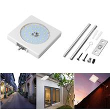 5W Solar Sound Control Colorful Street Light Wall Lamp with Pole Water..