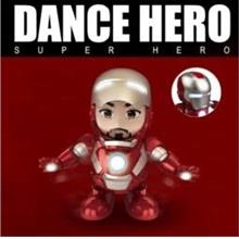 Dance Hero Super Hero Avengers Iron Man Kids Electric Baby Toys Gift
