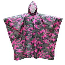Lixada 3 in 1 Multifunctional Outdoor Military Travel Camouflage Raincoat (pin